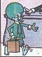 Gazoo disguised as the human lawyer F. Lee Freeyem - Great Gazoo issue 17