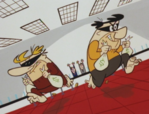 The Flintstones Reference - Fred and Barney as Barefoot Bandits