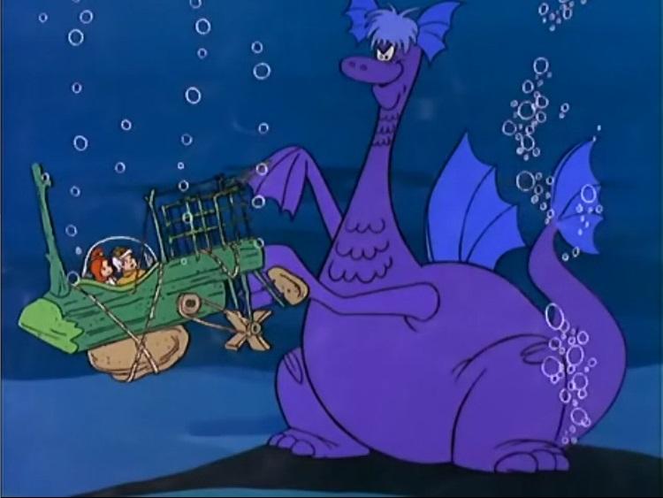 The Terrible Snorkosaurus