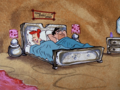 Sleeping Flintsones
