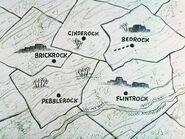 The Flintstones - The Rock Vegas Story - World Map