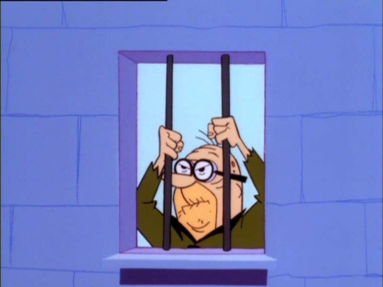 The Flintstones Reference - Mr. Slate from I Am Weasel.png