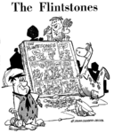 The Flintstones Comic Strip Ad