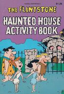 The Flintstones - Haunted House Activity Book - Book Cover