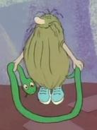 Captain Caveman's Snakeasaurus Jumprope - The Flintstone Comedy Show
