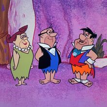 The Flintstones - Cinderellastone - Fred, Mr. and Mrs. Slate.jpg