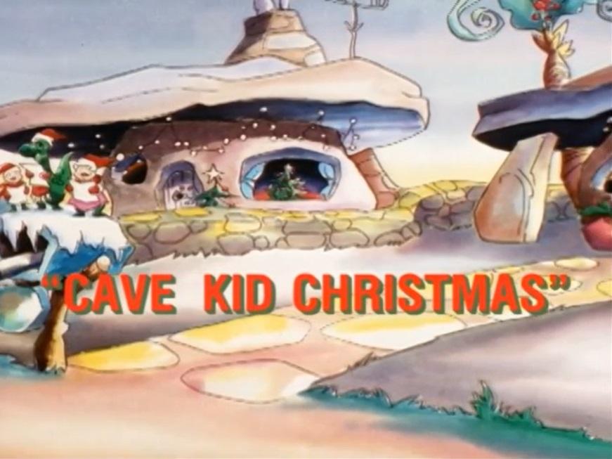 Cave Kid Christmas