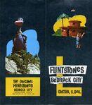 Bedrock City South Dakota - Original Brochure - 2