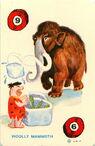 The Flintstones Ed-U-Card - Woolly Mammoth