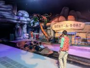 The Flintstones Bedrock River Adventure Boarding Station