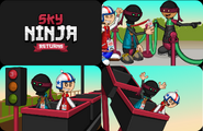 Gran Final Sky Ninja Returns
