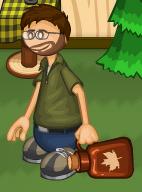 Matt con Bote de Maple