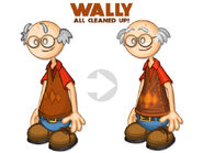 Wally clean