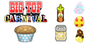 Cupcakeria To Go! - Big Top Carnival Toppings.png