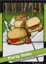 022 Party Subs