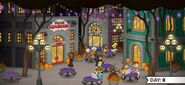 Mocharia To Go! - 1 New Pepperton durante Halloween