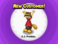 C.J. Friskins Desbloqueado