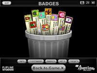 Badge trashed