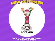 Radlynn desbloqueada