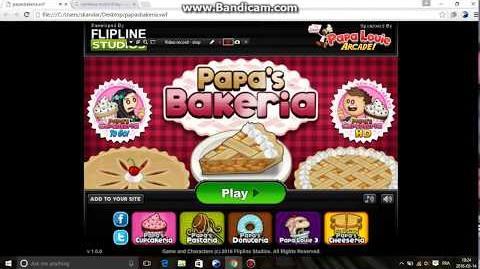 Papa's bakeria hacked rank 11 save