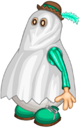 Alcalde Mallow Estilo Halloween