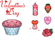 Cupcakeria HD - Valentine's Day Toppings.png