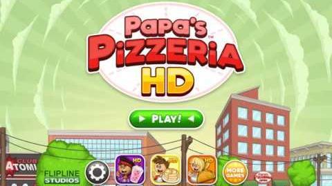 Papa's Pizzeria HD - Intro Day 1 & 2