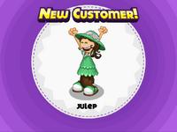 Nuevo cliente Julep