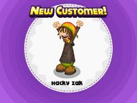 Nuevo cliente Hacky Zak