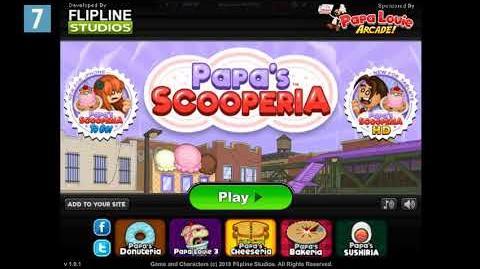 Papa's Scooperia Title Music
