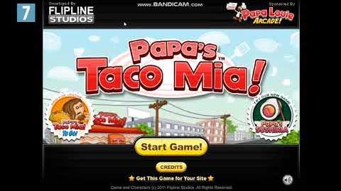 Papa`s Taco Mia! Title Music