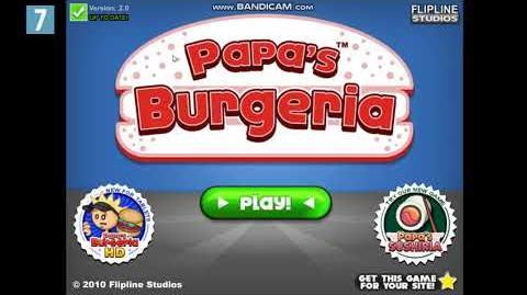 Papa`s Burgeria Title Music