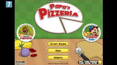 Papa`s Pizzeria Title Music