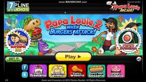 Papa Louie 2- When Burgers Attack! Title Music