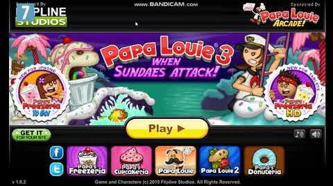 Papa Louie 3- When Sundaes Attack! Title Music