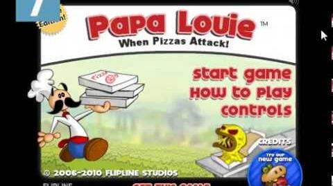 Papa Louie- When Pizzas Attack! Title Music