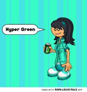 Hyper Green Team Hannah