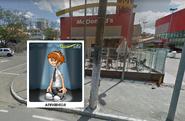 Annabelle in McDonald's