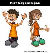 Toby and Regine