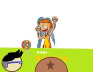 Daniel's Star Lollipop