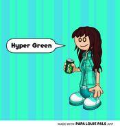 Hyper Green Team Madeline