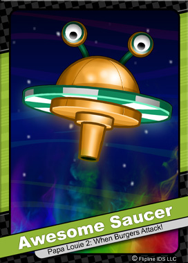 Awesome Saucer (Enemy)