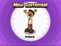 New customer Franco