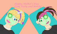 Happy Mother's Day 2021 from Vicky and Mindy