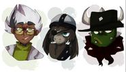 Bad Good Guys By aronora
