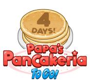 Papas Pancakeria To Go 4 Days!