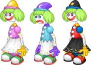 PLP Sprinks the Clown Outfits
