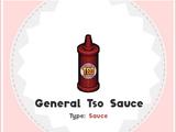 General Tso Sauce