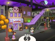 Oniontown during Halloween