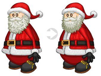 NWT Candy Cane Jester Santa Hat Furry Santa Hat Mrs Santa Christmas